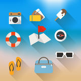 Vacation travelling concept Royalty Free Stock Images