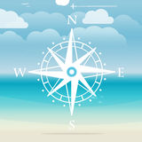 Vacation travelling concept. Vector illustration Royalty Free Stock Photos