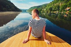 Vacation trip on the river Royalty Free Stock Photography