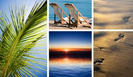 Vacation in tropic Stock Photography