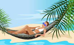 Vacation in the Tropics Stock Images