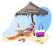 Vacation in the Tropics Royalty Free Stock Photo