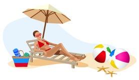 Vacation in the Tropics Stock Photo