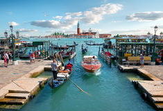 Vacation in Venice Royalty Free Stock Images