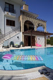 Vacation Villa with pool royalty free stock image