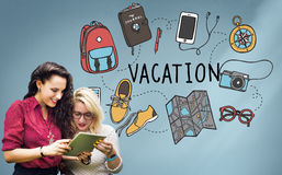 Vacation Wanderlust Travel Trip Concept Royalty Free Stock Photo