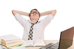 Vacationer student Stock Image