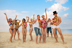 Vacationers Stock Images