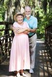 Vacationing aîné de couples Photographie stock