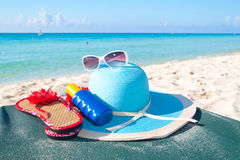 Vacations accessories Stock Photos
