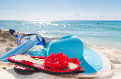 Vacations accessories Royalty Free Stock Images