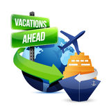Vacations ahead Stock Photos