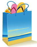 Vacations bag Royalty Free Stock Photo