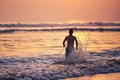 Vacations on the beach stock photos