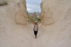 Vacations in Cappadocia Stock Photo