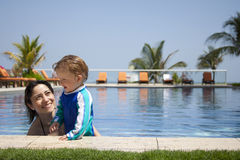 Vacations fun Stock Image