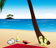 Vacations illustration. Stock Photography