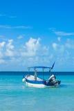 Vacations la barca Fotografie Stock