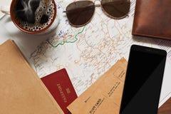 Vacations la planificación de las actividades Imagen de archivo