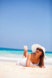 Vacations in paradise Stock Photography