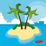 Vacations paradise island travel Stock Photo