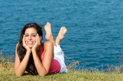 Vacations relaxing Stock Images