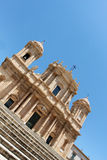 Vacations in sicily, baroque chatedral of noto Stock Image