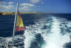 Vacations at Spain: Beautyful Sea Landscape Stock Images