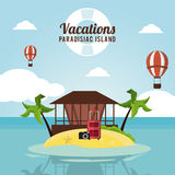 Vacations and summer design Stock Image