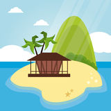 Vacations and summer design Royalty Free Stock Image
