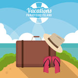 Vacations and summer design Royalty Free Stock Images
