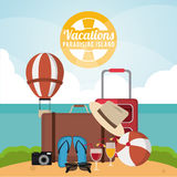 Vacations and summer design Royalty Free Stock Photo