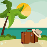 Vacations and summer design Stock Photo