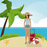 Vacations and summer design Royalty Free Stock Photography