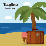 Vacations and travel design Stock Photo