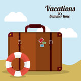 Vacations and travel design Stock Photos