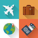 Vacations and travel design Stock Photography
