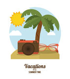 Vacations and travel design Royalty Free Stock Photography