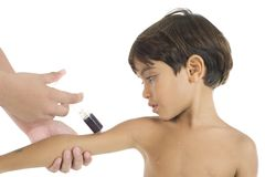 Vaccin royalty-vrije stock afbeeldingen