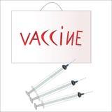 vaccin Fotografering för Bildbyråer