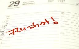 Vaccin contre la grippe Photographie stock
