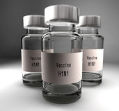 Vaccin de grippe Images stock