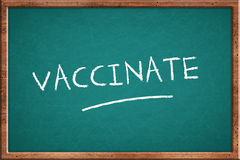 Vaccinate Stock Photography