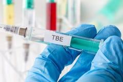 Vaccination de Tbe Photo stock