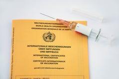 Vaccinaton Photographie stock libre de droits