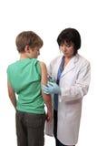 Vaccinazione del bambino immagini stock libere da diritti