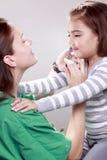 Vaccinazione N1H1 Immagini Stock