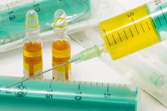 Vaccinazioni Immagine Stock