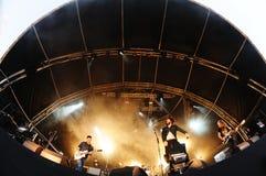 The Vaccines band performance at Heineken Primavera Sound 2013 Stock Photos