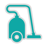 Vaccum cleaner isolated icon design Royalty Free Stock Photos